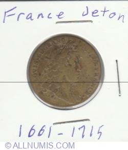 Image #1 of 1 jeton 1661-1715
