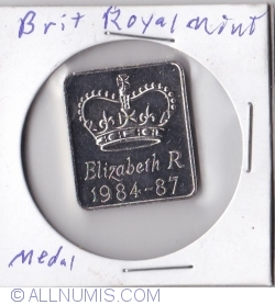 Image #1 of Elizabeth R 1984 - 87 proof coin