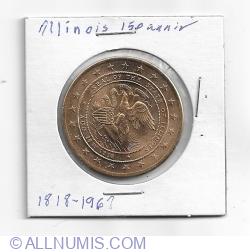 Imaginea #1 a Illinois 150th anniversary 1818-1968