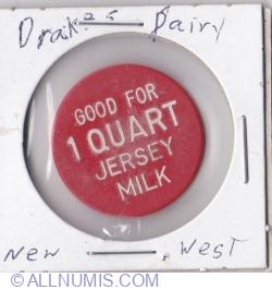Image #1 of 1 quart Jersey milk