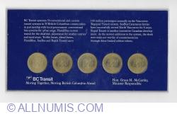 Imaginea #2 a commemorative token set