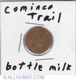 one bottle milk