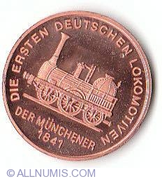 Imaginea #2 a German railway 150th anniversary
