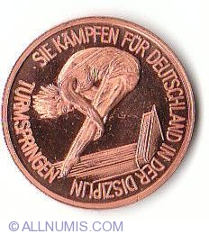 Imaginea #2 a Germany 1988 Olympic diving team
