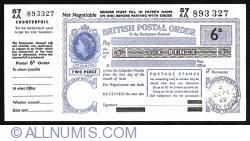 Image #1 of 6 Pence 1962