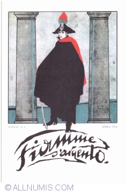 """Image #1 of National Association of Carabinieri - Magazine Cover """"Fiamme d'Argento"""", April 1924"""
