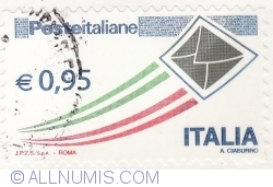 Image #2 of 0,95 Euro 2014 - Italian Post