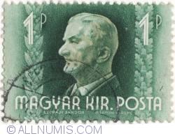 Imaginea #1 a 1 Pengo,1941-Miklos Horthy