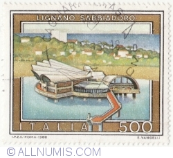 Image #1 of 500 Lire 1988 - Lignano, Sabbiadoro