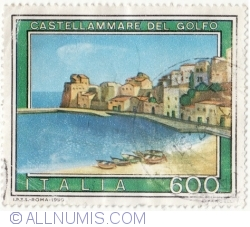Image #1 of 600 Lire 1990 - Castellammare del Golfo