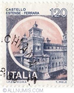 Image #2 of 120 Lire 1980 - Estense Castle, Ferrara