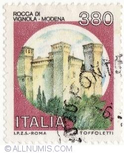 Image #1 of 380 Lire 1987 - Rocca di Vignola, Modena