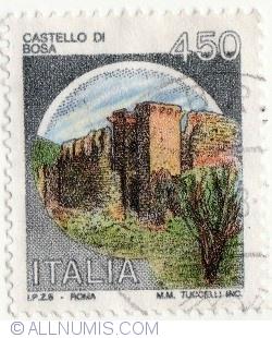 Image #1 of 450 Lire 1980 - Castello di Bosa