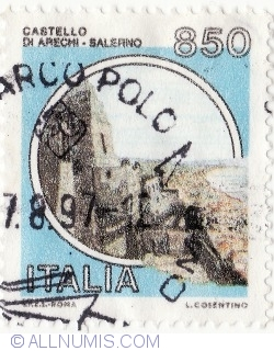 Image #2 of 850 Lire 1992 - Castello di Arechi, Salerno