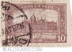 Imaginea #1 a 10 Korona 1917 - Palatul Parlamentului
