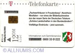 Fachwerkhauser in Freudenberg