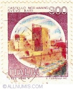 Image #1 of 300 Lire 1980- Normanno Castle, Bari