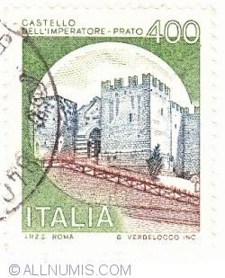 Image #1 of 400 Lire 1980 - Castello dell'Imperatore, Prato