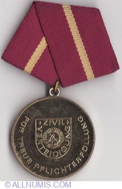 Aparare Civila-medalia de aur