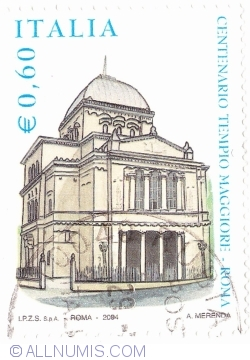 Image #1 of 0 60 Euro 2004 - Centenary of the Great Synagogue of Rome, Rome