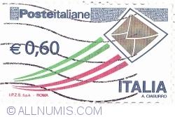 Image #1 of 0,60 Euro 2013 - Italian Post