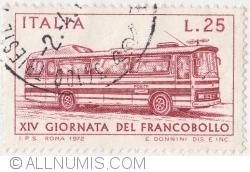 Image #1 of 25 Lire 1972 - A XIV-a Zi a timbrului