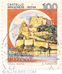 Image #1 of 100 Lire 1980 - Castello Aragonese, Ischia