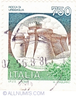 Image #1 of 750 Lire 1990 - Rocca di Urbisaglia