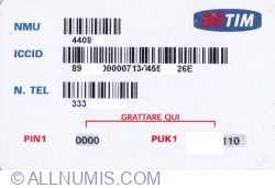 Image #2 of TIM - SIM-PLUS (card with number)