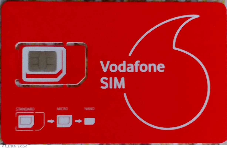 Vodafone SIM, Vodafone - SIM Card - Romania - Token - 41395
