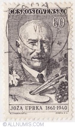 Image #1 of 60 Haleru 1961 - Joza Uprka (1861-1940)