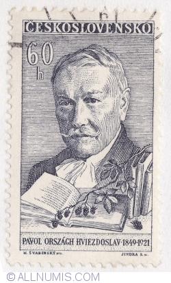 Image #1 of 60 Haleru 1961 - Pavol Orszagh Hviedoslav (1849-1921)
