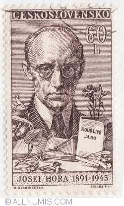 Image #1 of 60 Haleru 1961 - Josef Hora (1891-1925)
