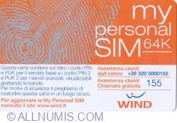 My personal SIM 64K - 5 Euro
