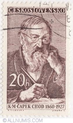 Image #1 of 20 Haleru 1960 - Karel Matej Capec-Chod (1860-1927)