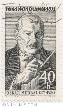 Image #1 of 40 Haleru 1960 - Oskar Nedbal (1874-1930)