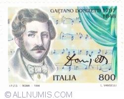 Image #1 of 800 Lire 1998 - Gaetano Donizetti (1797-1848)