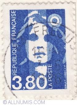 Image #1 of 3,80 Franci 1996-Marianne de Briat