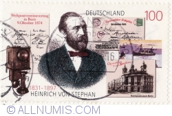 Image #1 of 100 Pfennig 1997 - Heinrich von Stephan (1831-1897)