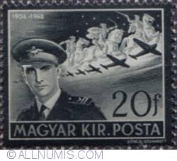 Imaginea #2 a 20 Filler,1942-Istvan Horthy,1904-1942