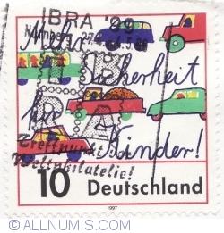 Image #1 of 10 Pfennig 1997 - Traffic Safety for Children
