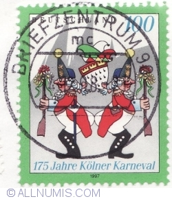 Image #1 of 100 Pfennig 1997 - Cologne Carnival, 175th Anniv.