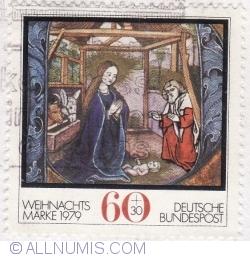 Image #1 of 60+30 Pfennig 1979 - Christmas