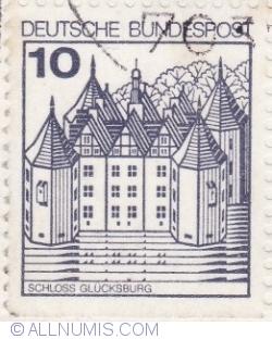 Image #1 of 10 Pfennig 1987 - Glucksburg Castle