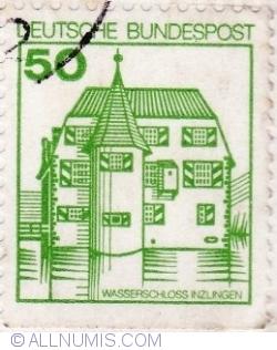 Image #1 of 50 Pfennig 1980 - Inzlingen Castle