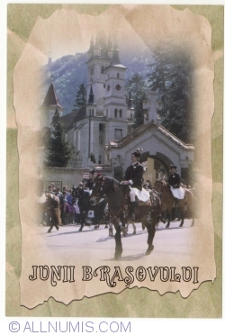 Junii Brașovului - Romanian traditional festival of the young men, on the fist week after the Easter Day