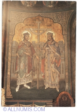Bucharest - Patriarchal Cathedral - Imperial Saints Constantine and Helen