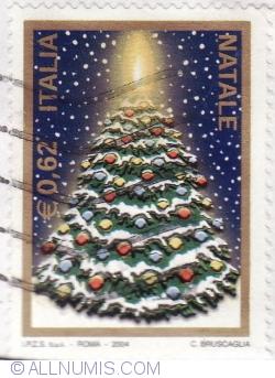 Image #1 of 0,62 Euro 2004 - Christmas