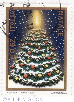 Image #2 of 0,62 Euro 2004 - Christmas