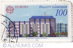 Image #1 of 100 Pfennig 1990 - Frankfurt am Main Post Office